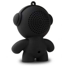 Headphonies Softy Mobi, draagbare speaker achterzijde