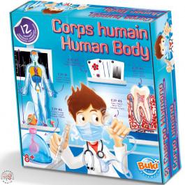 BUKI onderzoeksdoos voor kinderen over het functioneren van het Menselijk Lichaam.