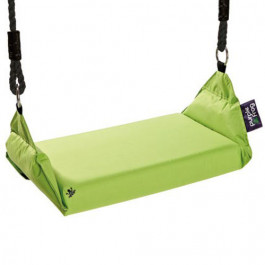 Marshmallow Swing schommel Lime, groen - Purple Frog