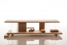Houten design poppenhuis, Sirch Maison Rive Gauche