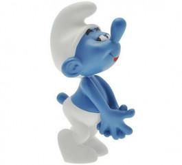 Verlegen acteur Smurf XL van Plastoy, rechterzijde