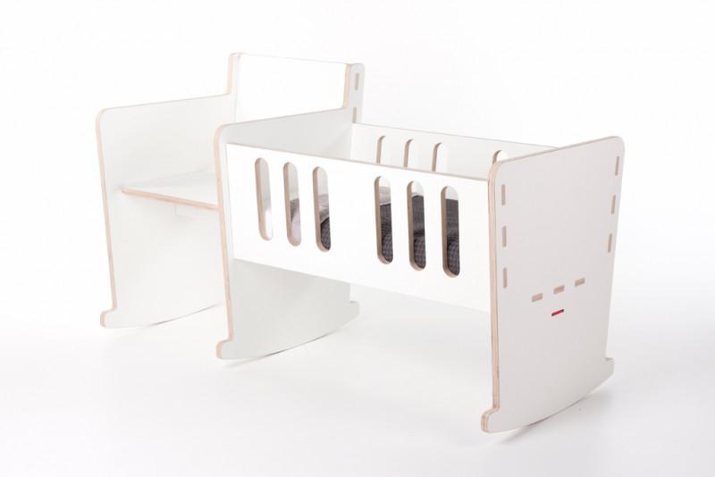 Schommelstoel Met Wieg.Moep Een Wieg Schommelstoel In Een D Van Dirk Design