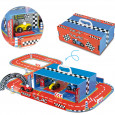 Vilac speelgoed racebaan en garage met accessoires