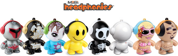 Headphonies speakers